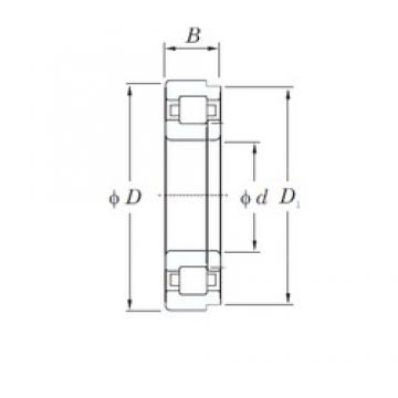 75 mm x 160 mm x 55 mm  KOYO NUP2315R cylindrical roller bearings